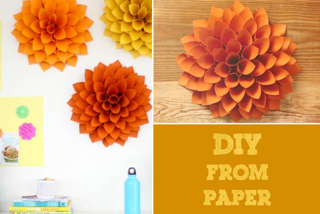 Diy giant paper flowers cbu art gallery blog diy dahlia mightylinksfo