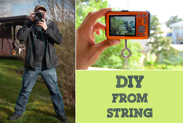 diy string tripod